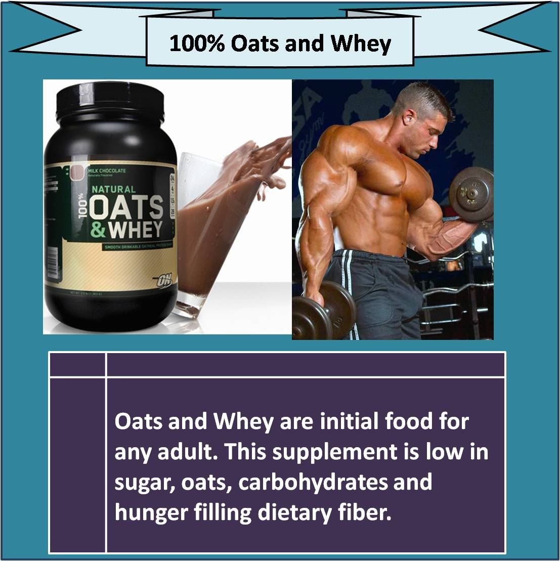 100 percent Oats and Whey
