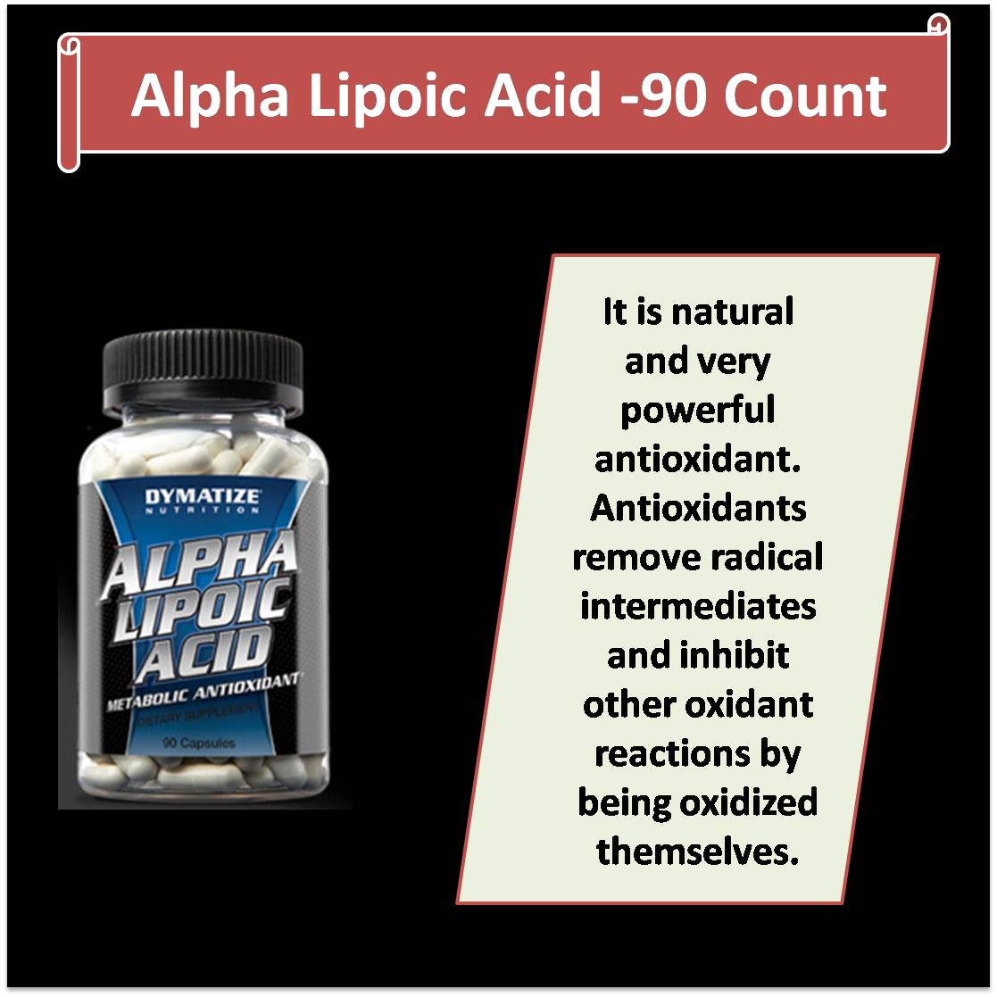 Alpha Lipoic Acid -90 Count
