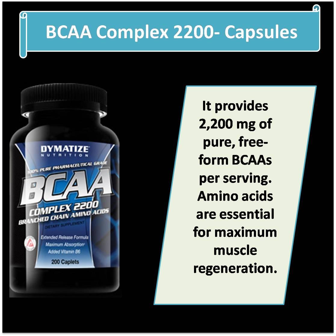 BCAA Complex 2200- Capsules