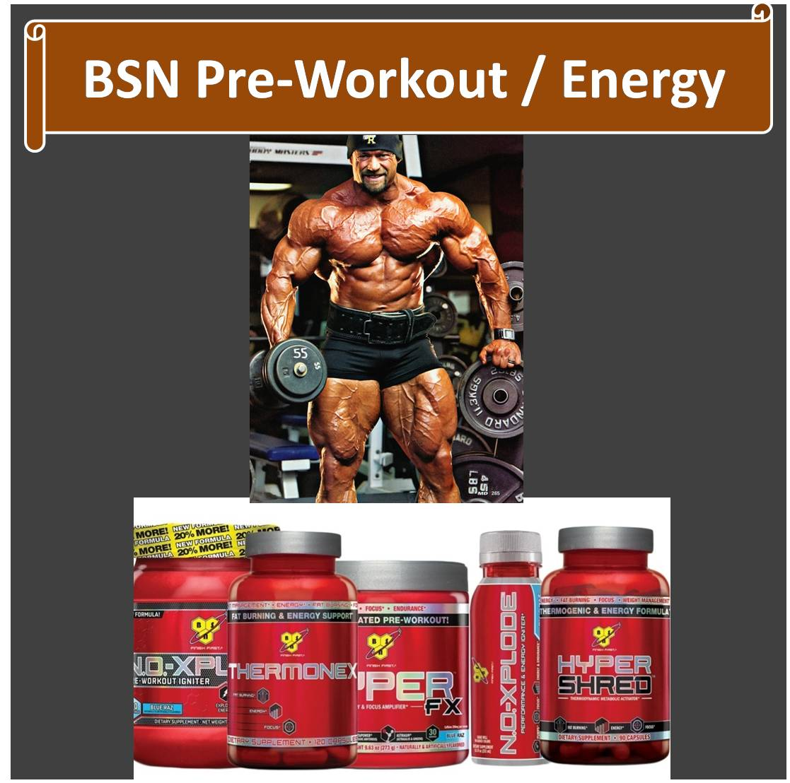 BSN Pre Workout Energy