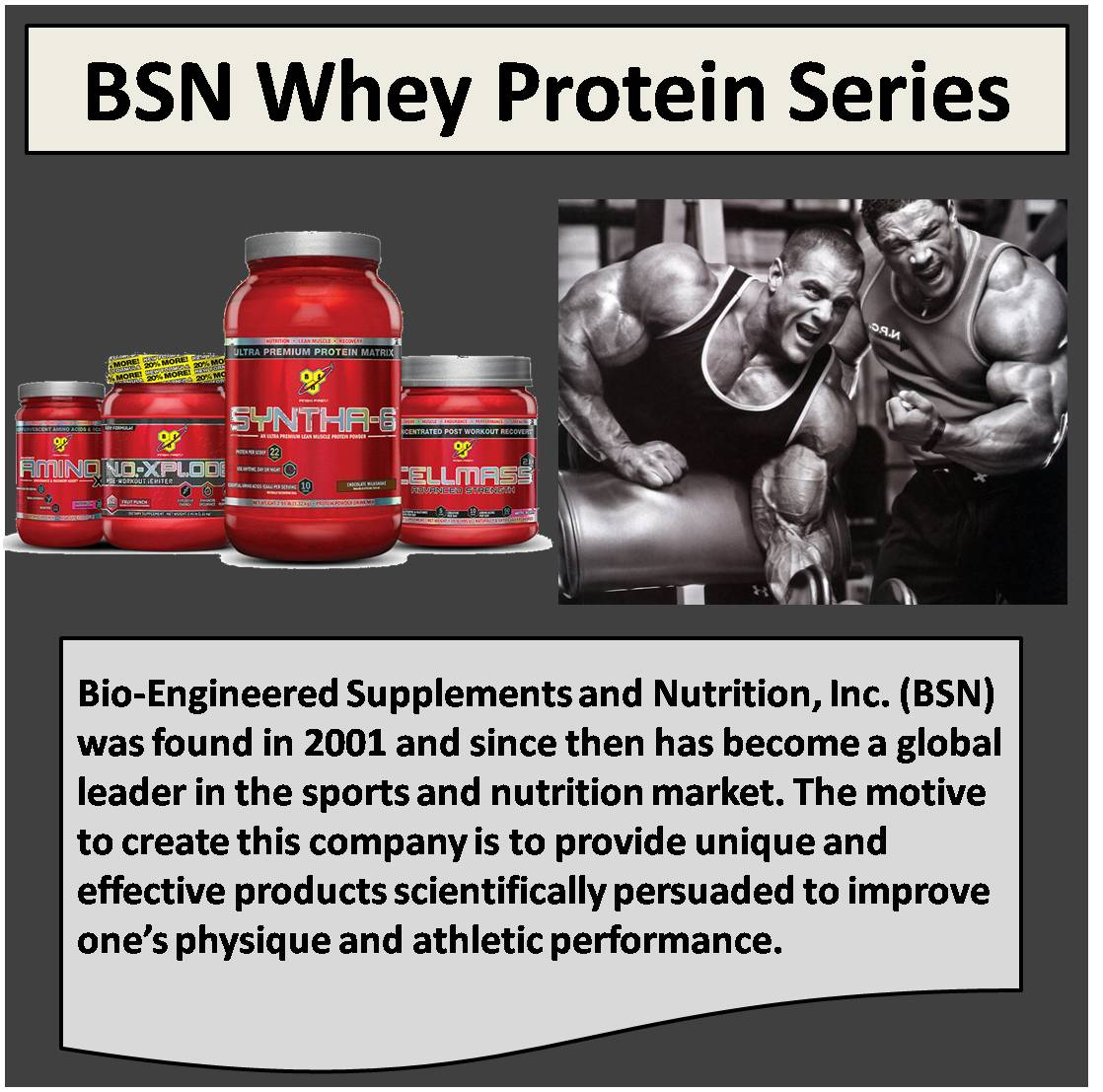 BSN Whey Protein Series