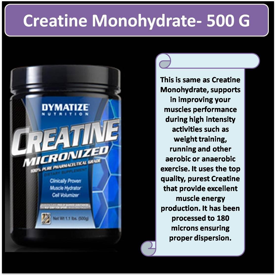 Creatine Monohydrate- 500 G