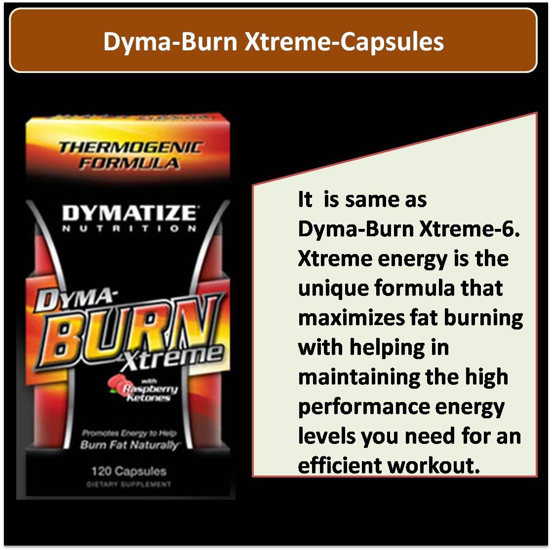 Dyma-Burn Xtreme-Capsules