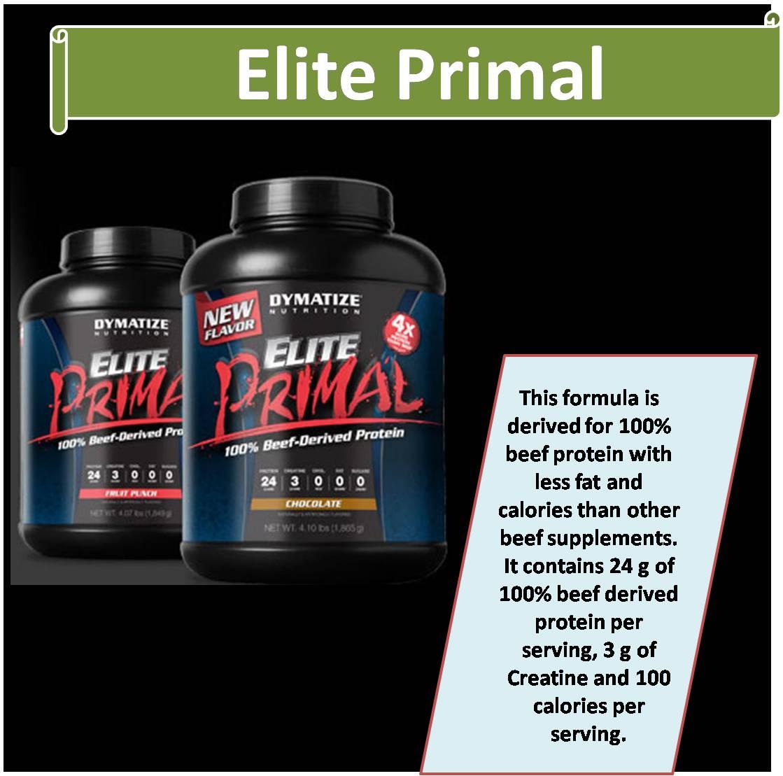 Elite Primal-4 Pound