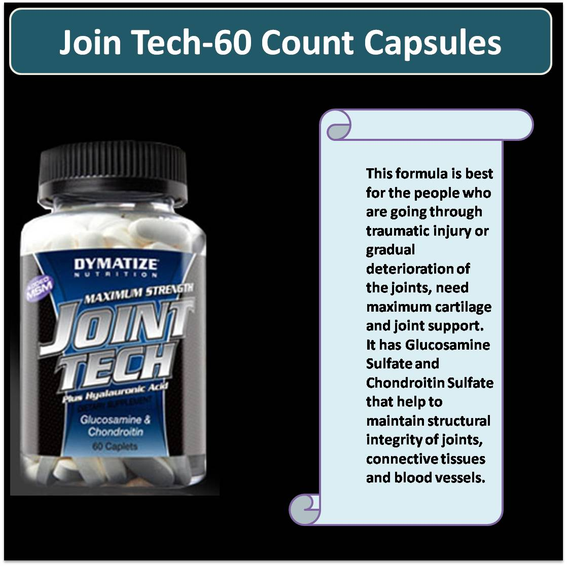 Join Tech-60 Count Capsules
