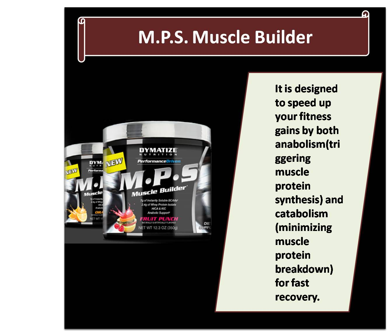 M.P.S. Muscle Builder