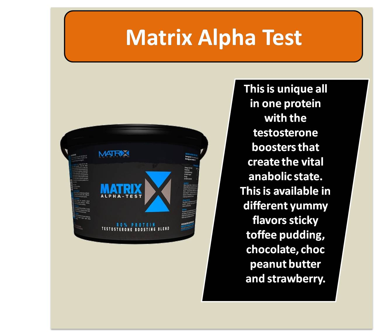 Matrix Alpha Test