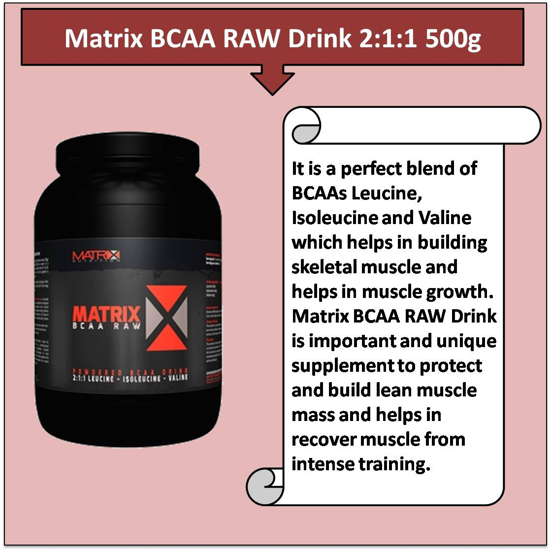 Matrix BCAA RAW Drink