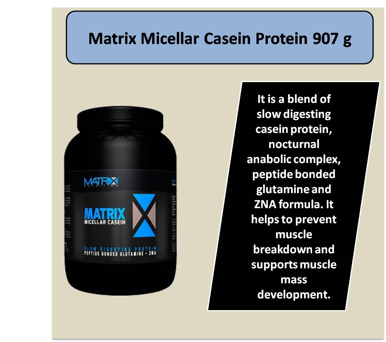Matrix Micellar Casein Protein 907 g