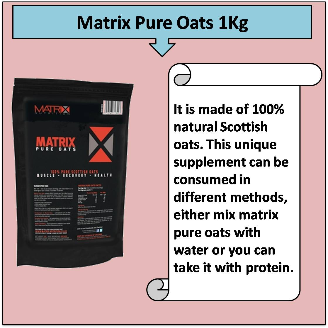Matrix Pure Oats 1Kg
