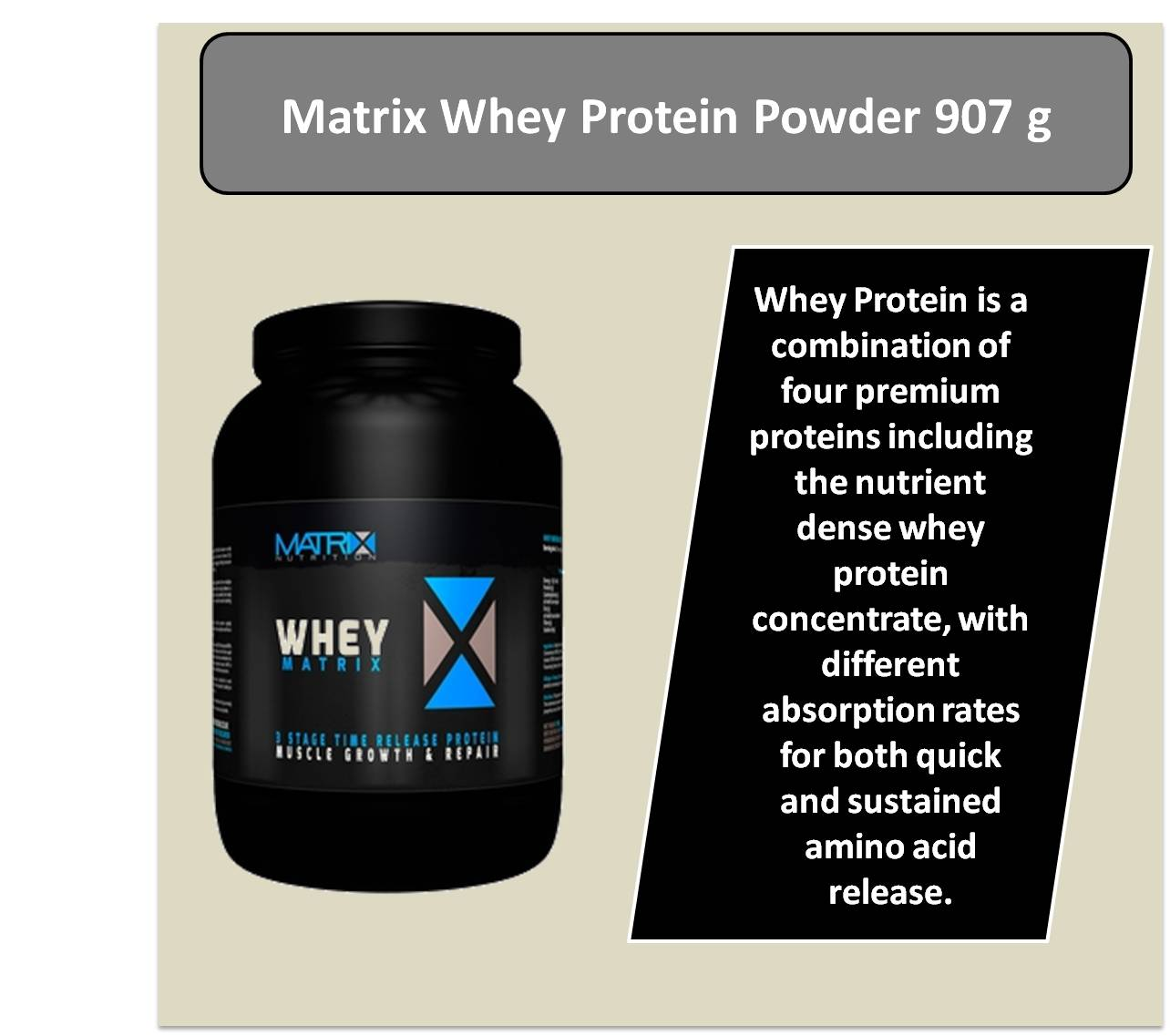Matrix Whey Protein Powder 907 g