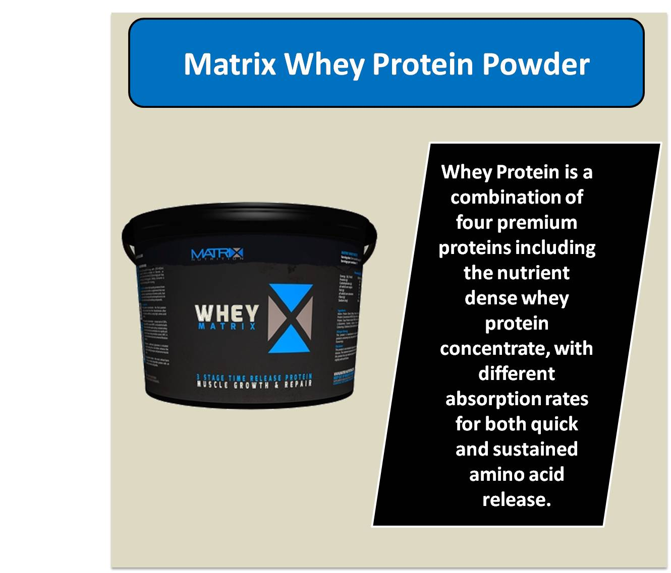 Matrix Whey Protein Powder