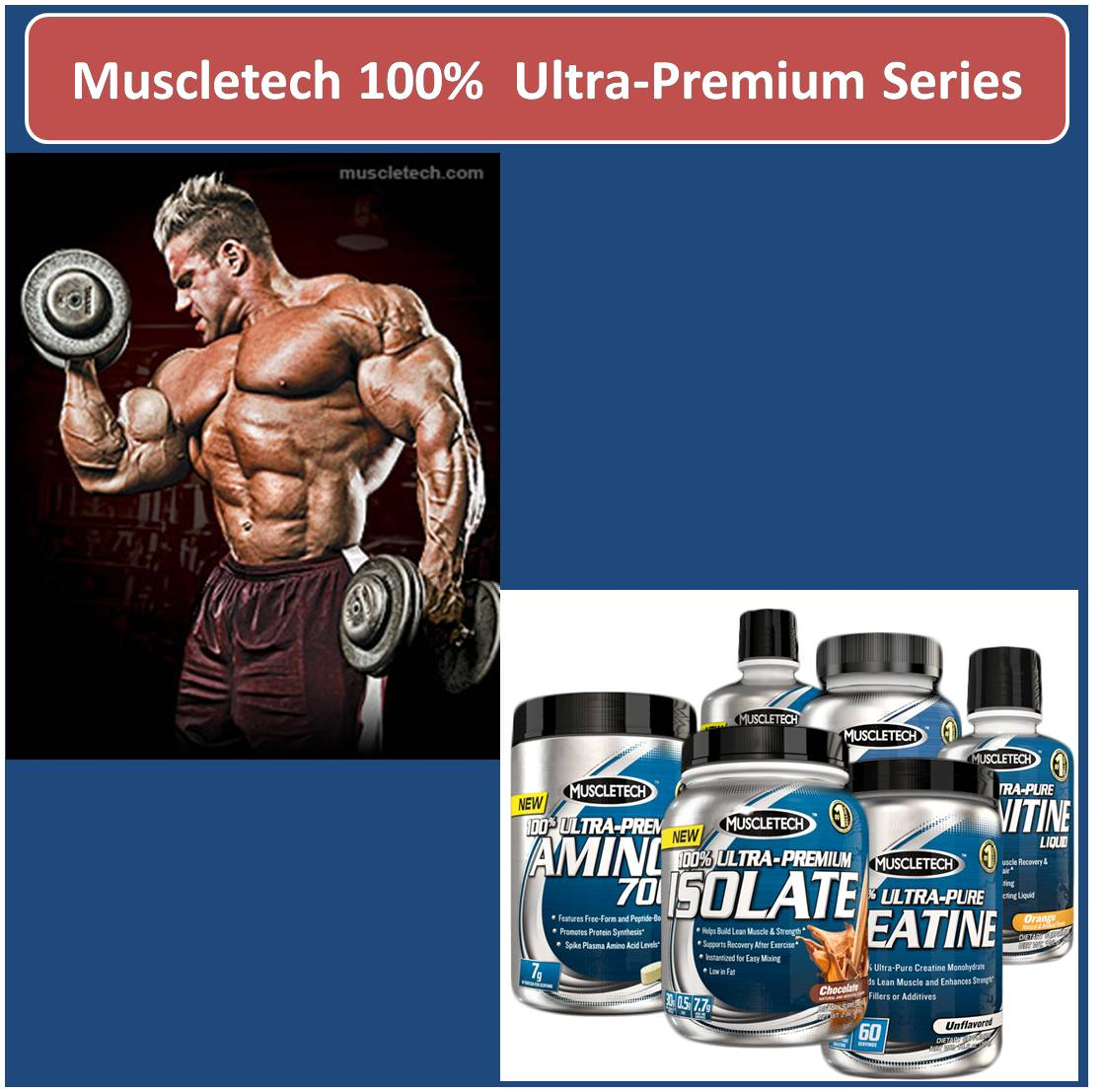 Muscletech 100 percent Ultra-Premium Series