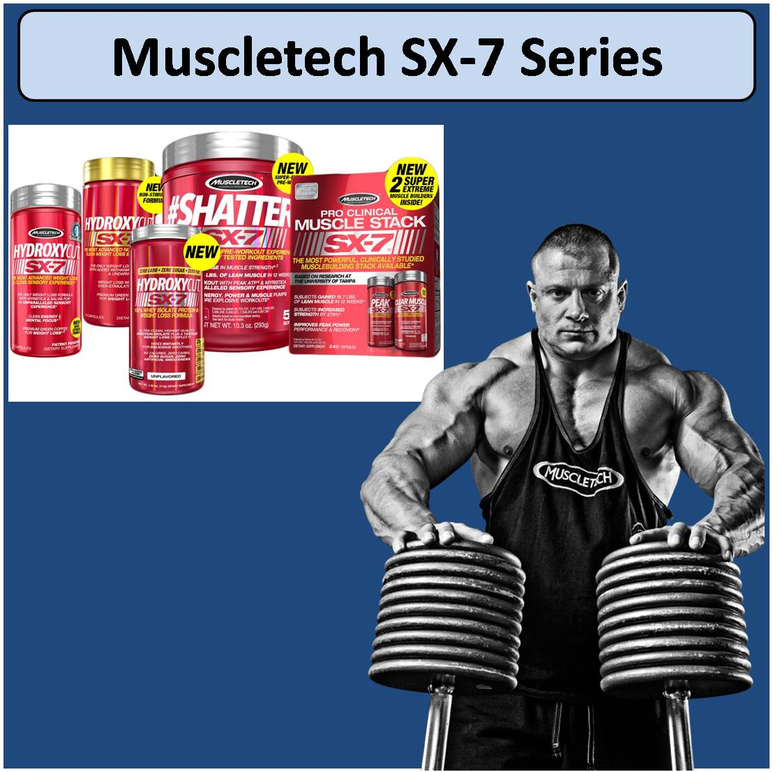 Muscletech SX-7 Series
