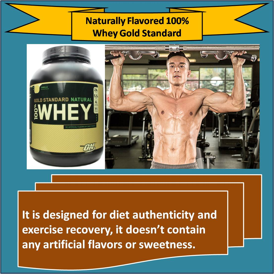 Naturally Flavored 100 percent Whey Gold Standard