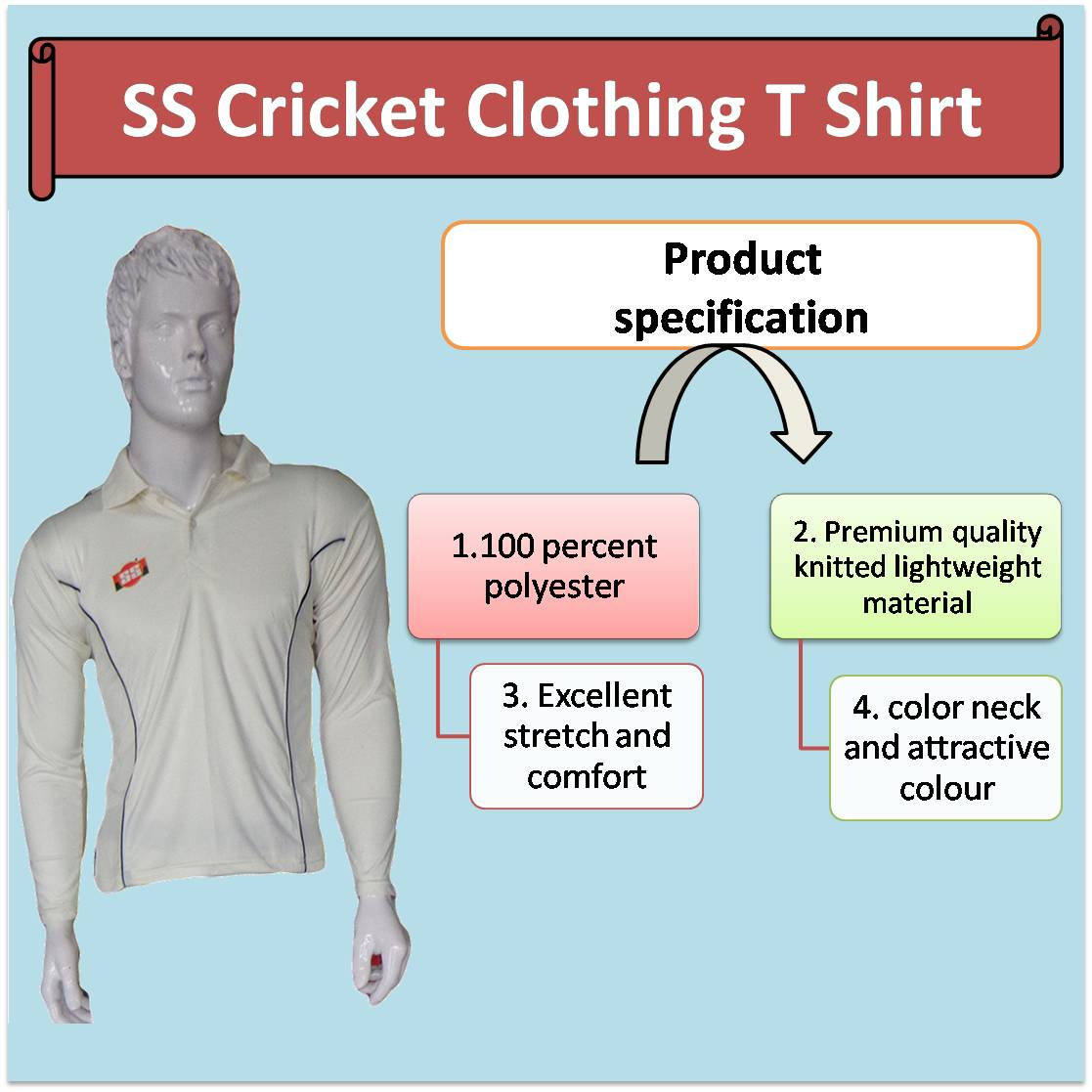 SS Cricket Clothing T Shirt