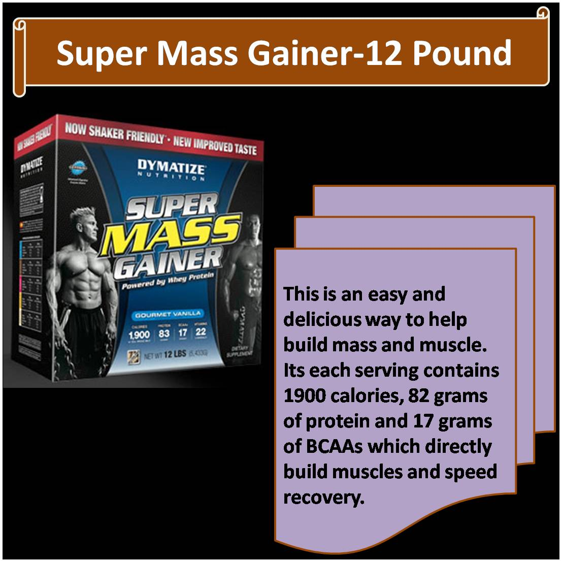 Super Mass Gainer-12 Pound