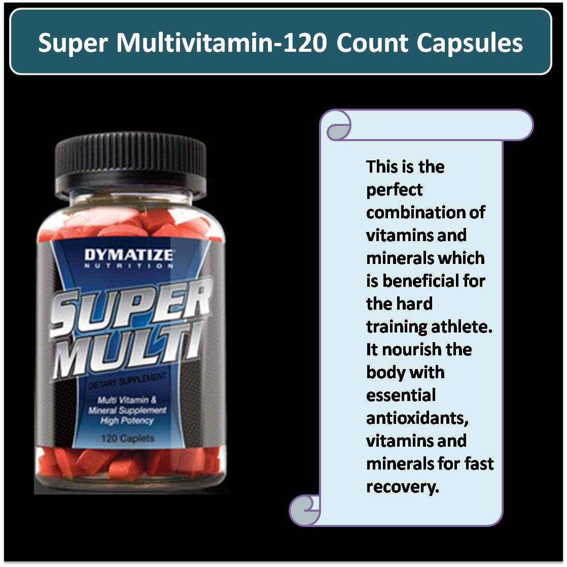 Super Multivitamin-120 Count Capsules
