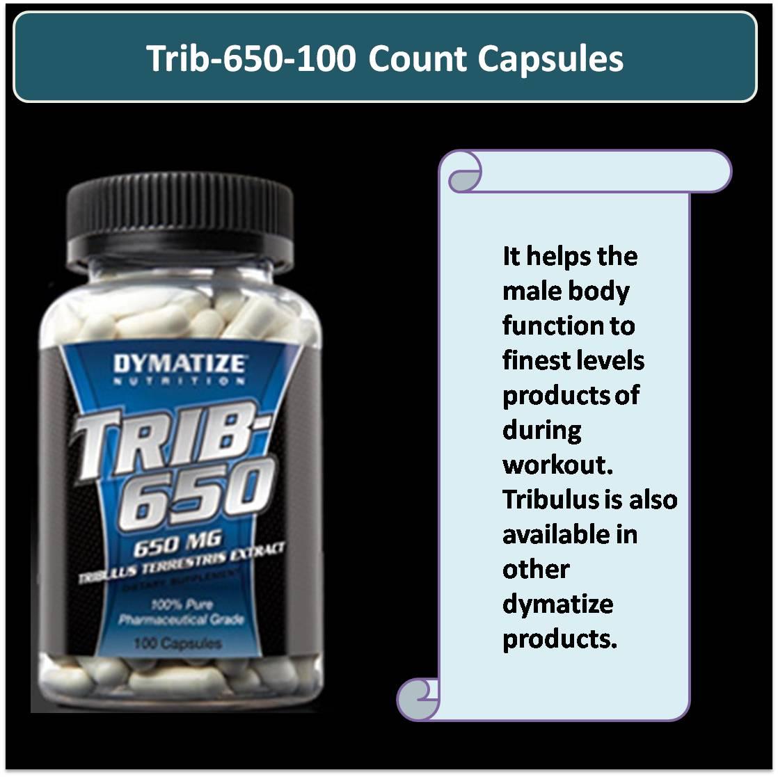 Trib-650-100 Count Capsules