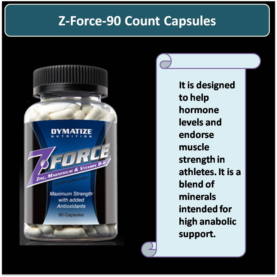 Z-Force-90 Count Capsules