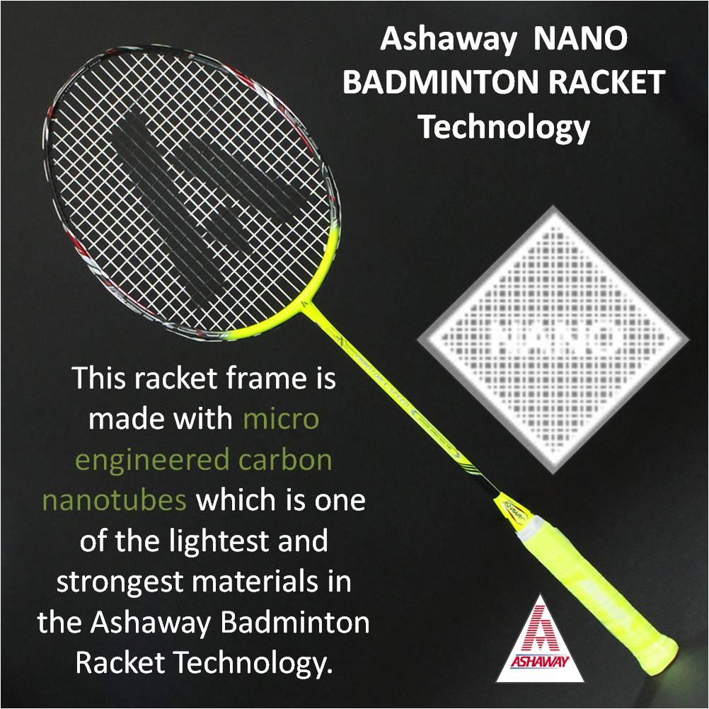 Ashaway NANO Badminton Racket Technology
