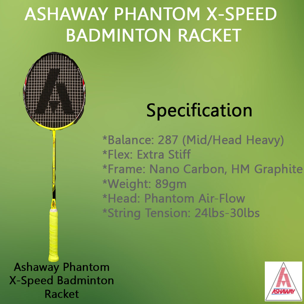 Ashaway Phantom X Speed Badminton Racket