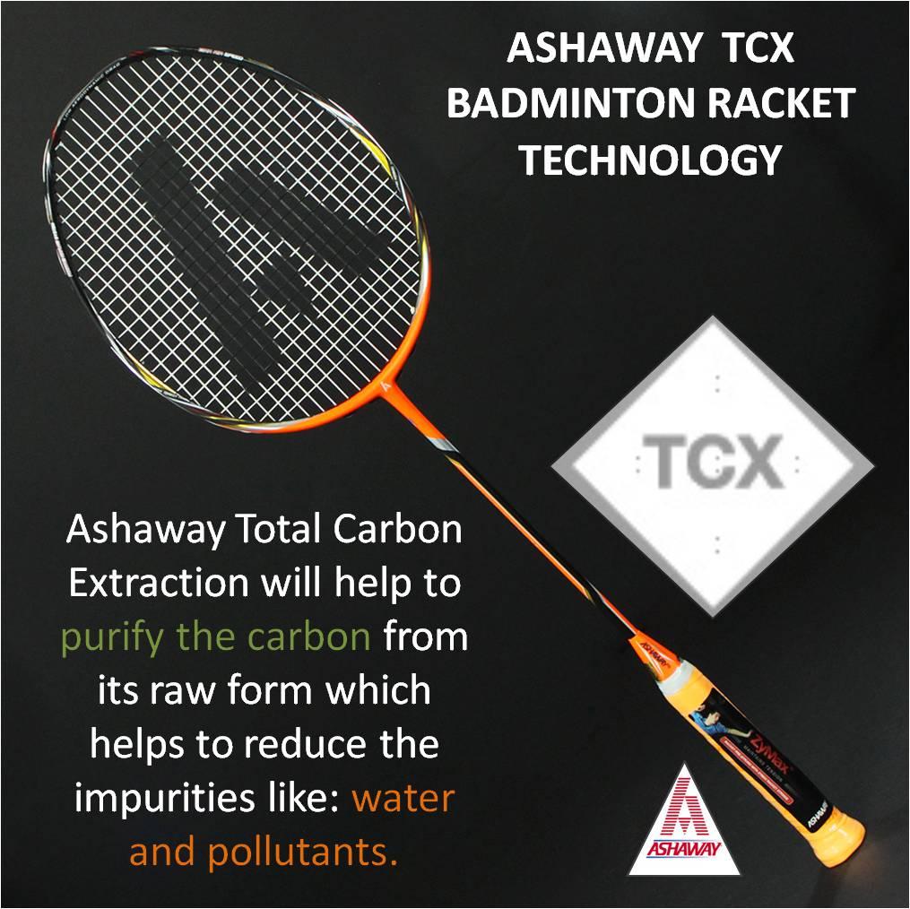 Ashaway TCX Badminton Racket Technology