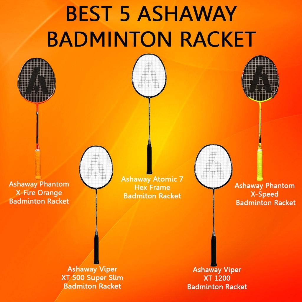 Best 5 Ashaway Badminton Racket