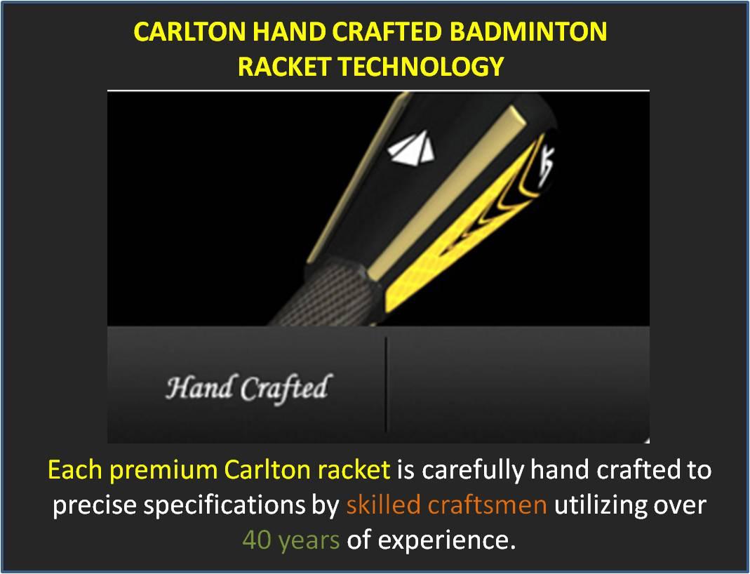 Carlton Hand Crafted Badminton Racket Technology