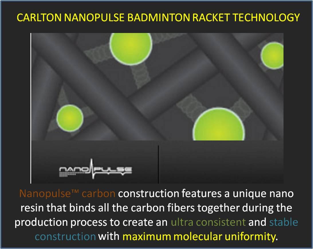 Carlton Nanopulse Badminton Racket Technology