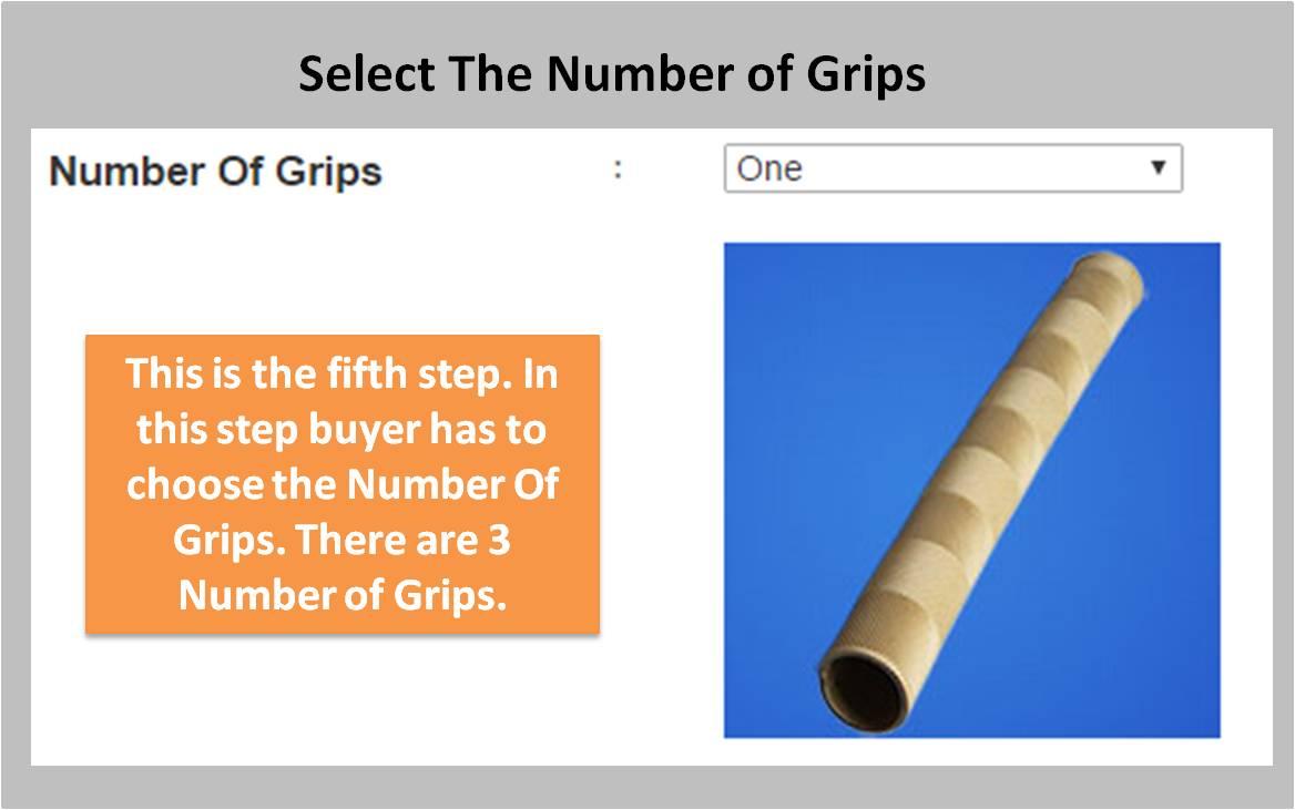 Custom Made English willow Bat Grip