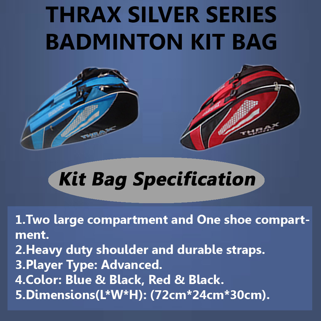 Thrax Silver Series Kit Bag