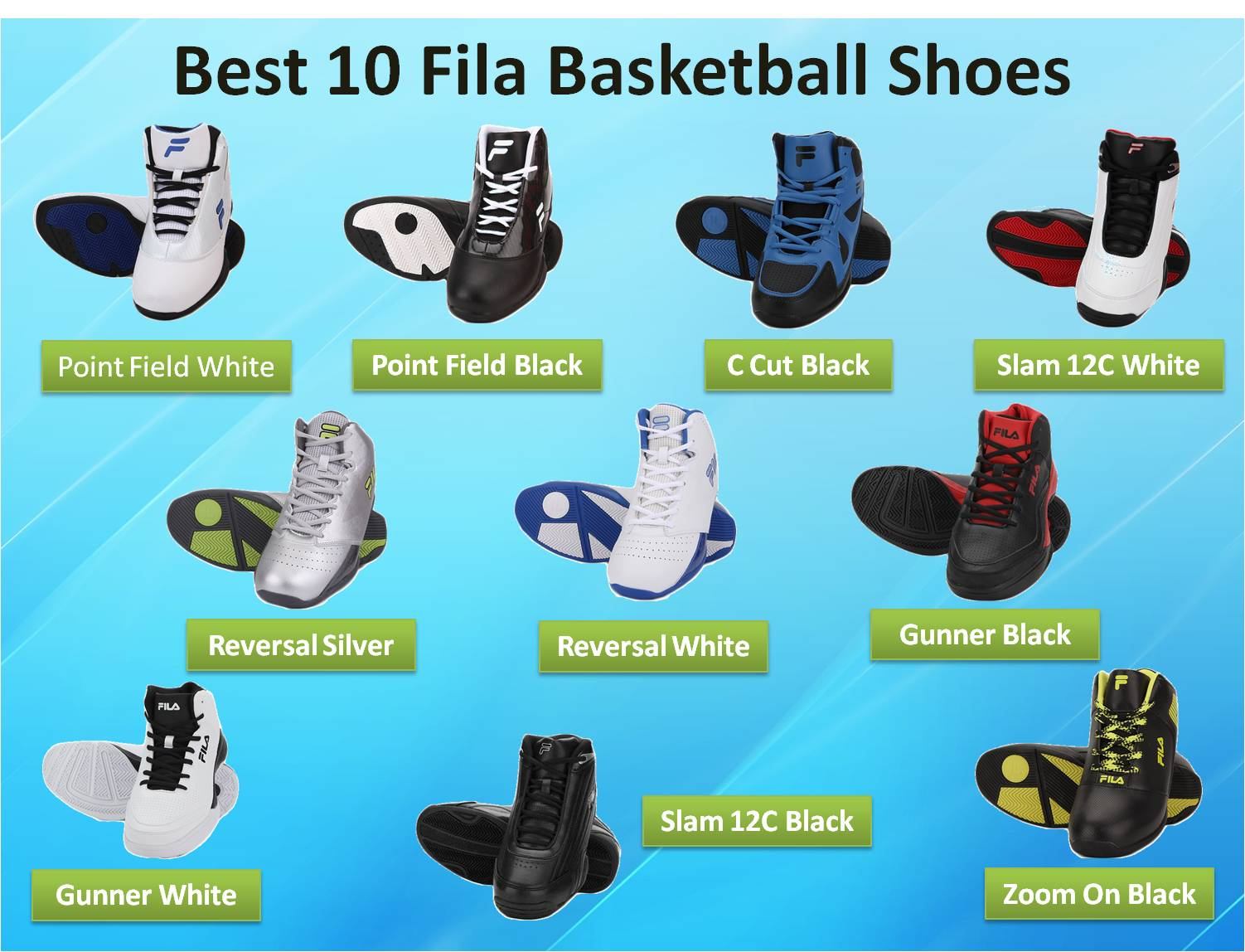 Best 10 Fila Basketball Shoes