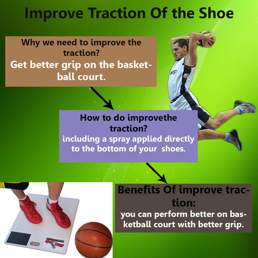 Improve Basketball Shoe Grip