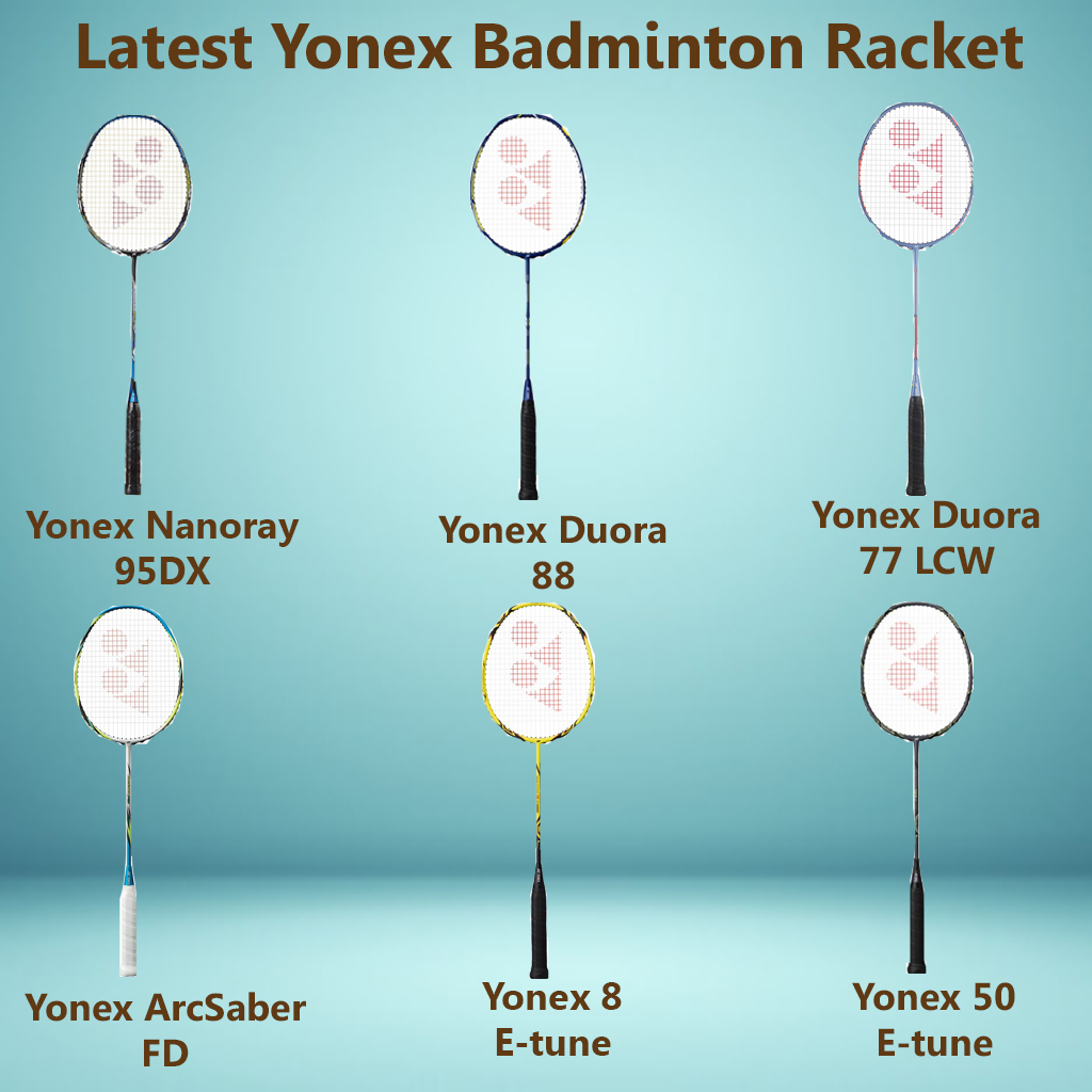Latest Yonex Badminton Rackets in March 2016