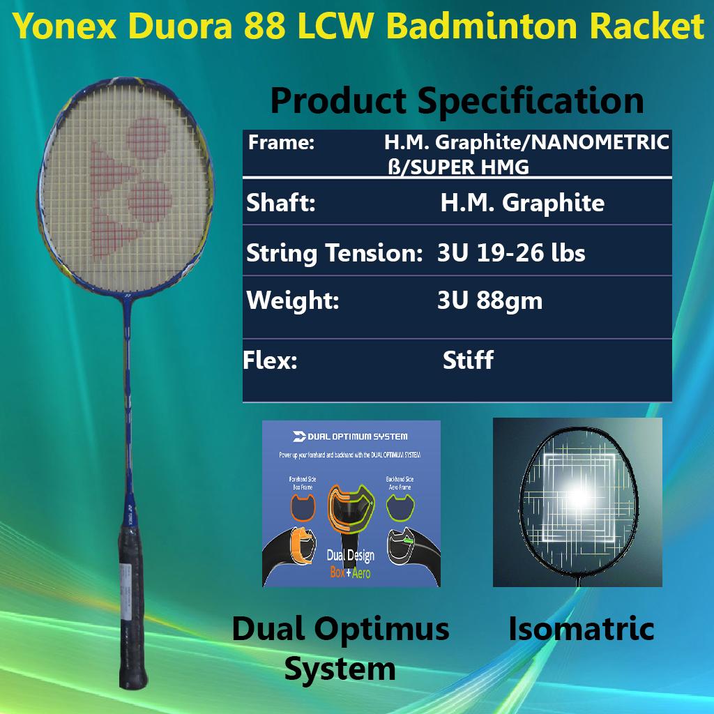 Yonex Duora 88 LCW