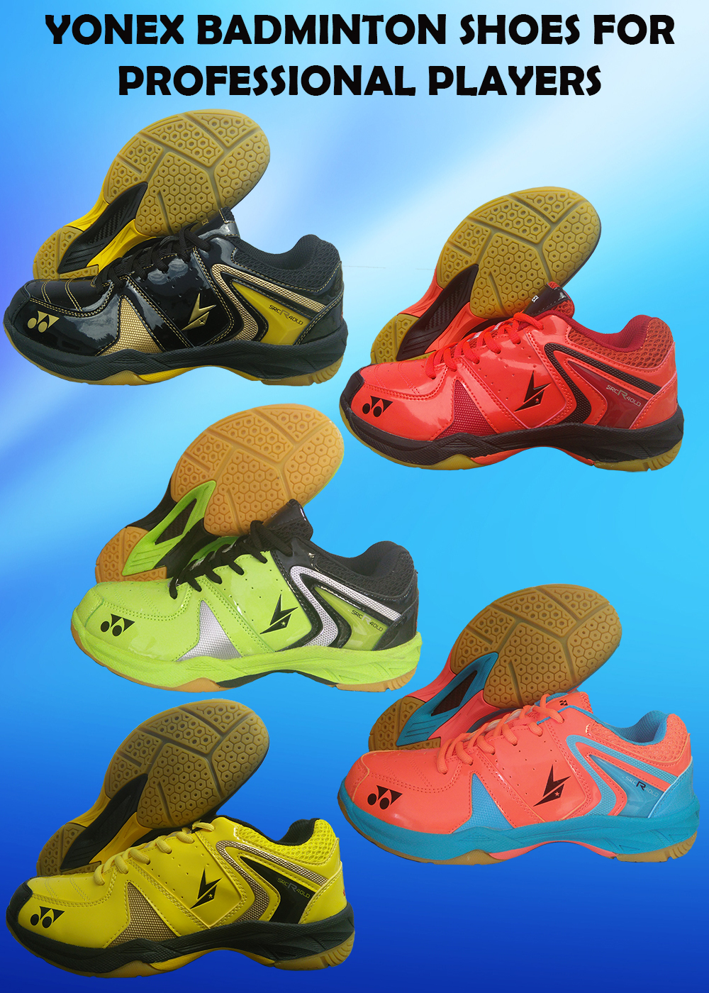 ALL NEW YONEX BADMINTON SHOES FOR PROFESSIONAL PLAYERS