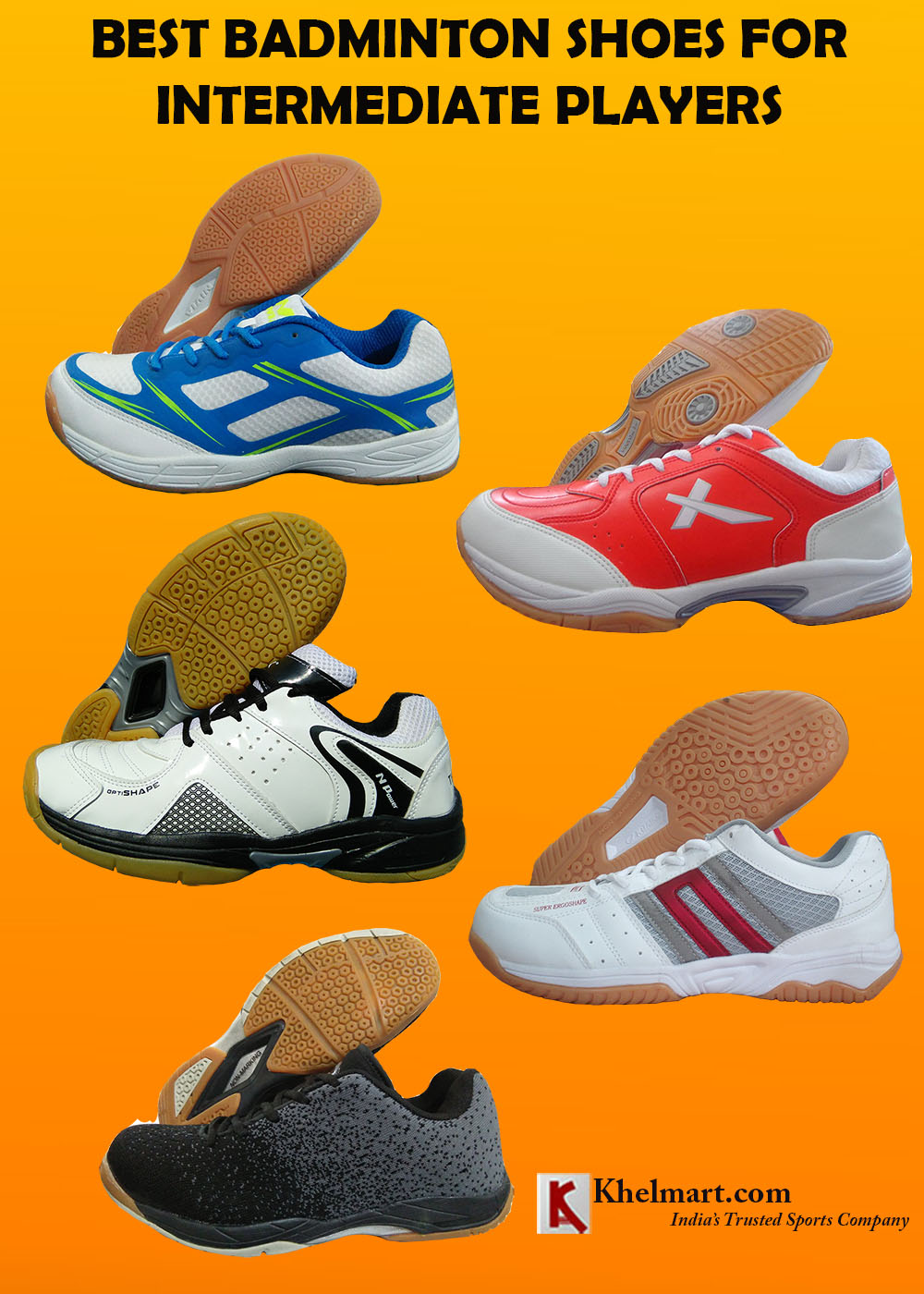 BEST BADMINTON SHOES FOR INTERMEDIATE PLAYERS