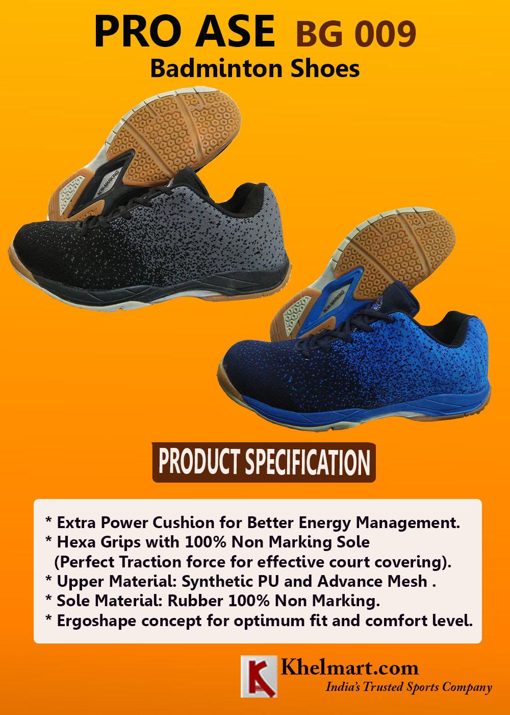 PRO ASE BG 009 Badminton Shoe