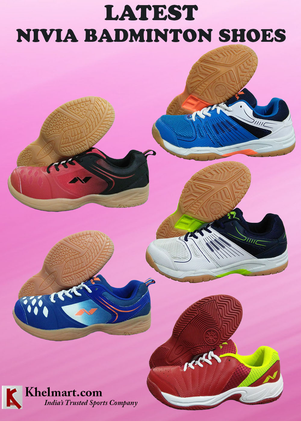 LATEST NIVIA BADMINTON SHOES