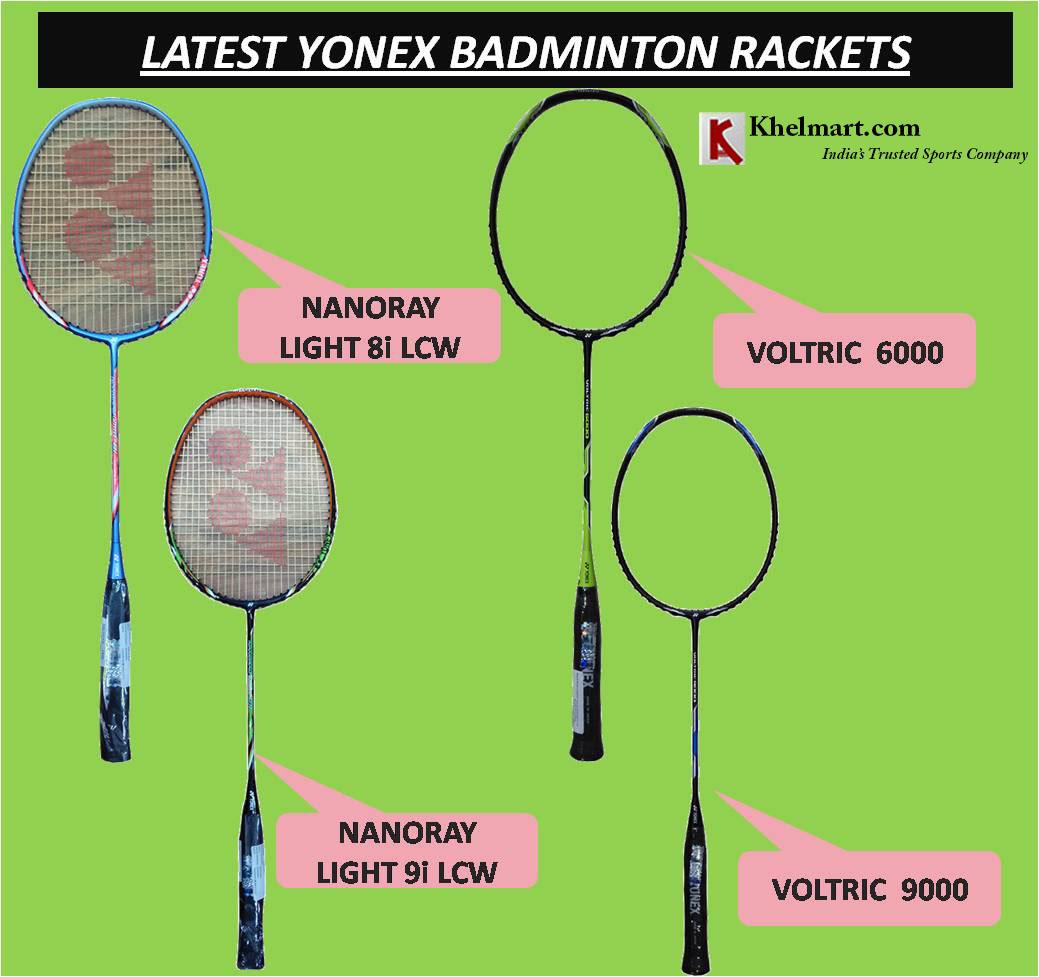 LATEST YONEX BADMINTON RACKET