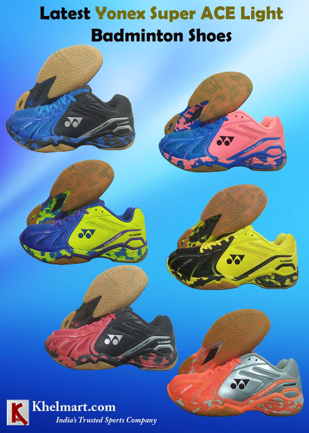 Latest Yonex Super ACE Light Badminton Shoes