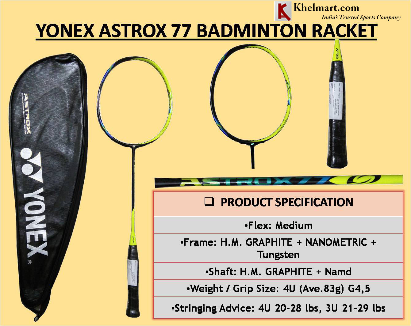 YONEX BADMINTON RACQUET NANORAY 800 Red - MAX Sports-All YONEX Pro ... | 1064x1340