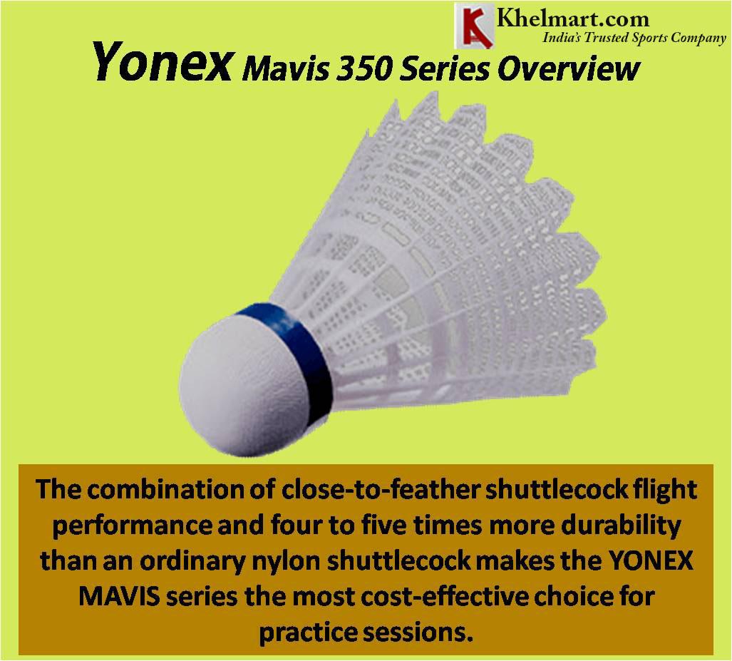 Yonex Mavis 350 Series Overview