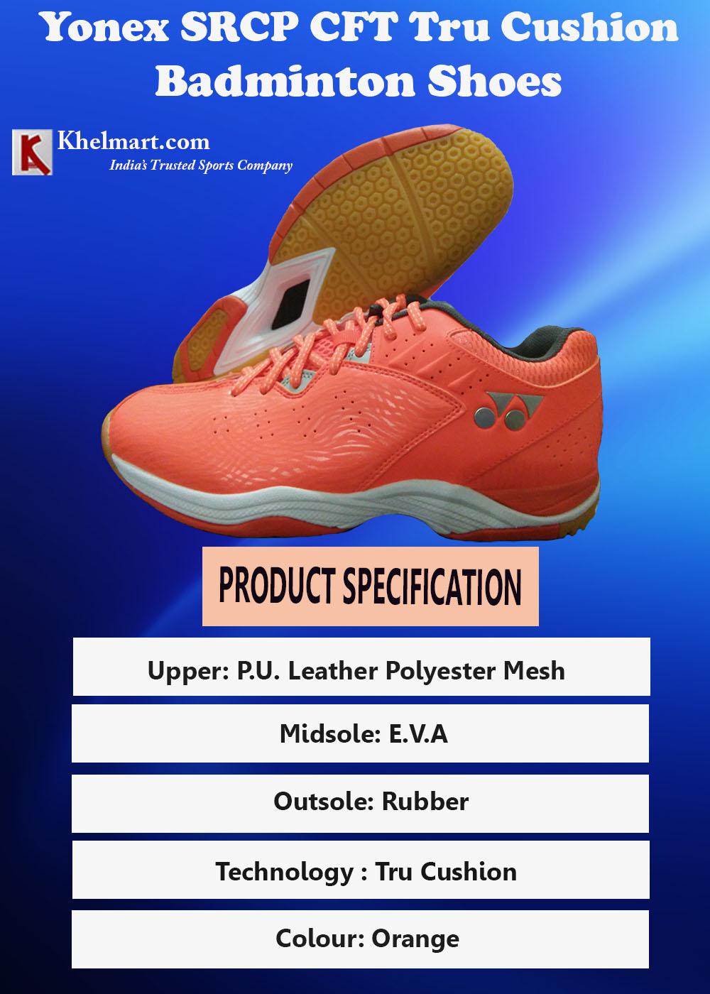 Yonex SRCP CFT Tru Cushion Badminton Shoes