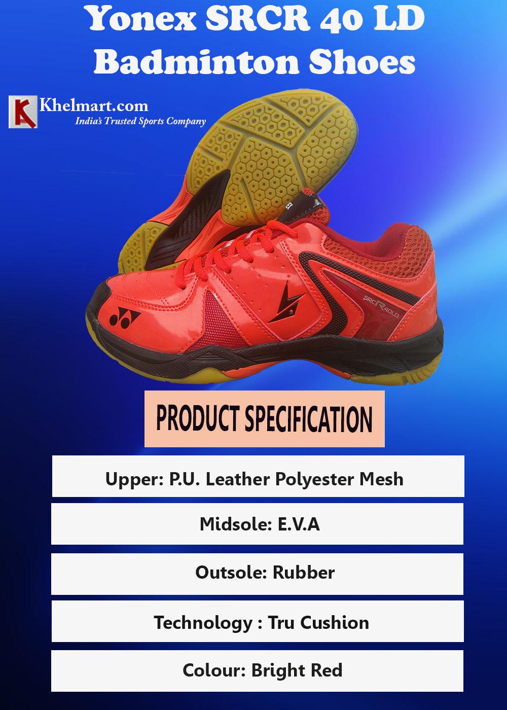 Yonex SRCR 40 LD Badminton Shoes