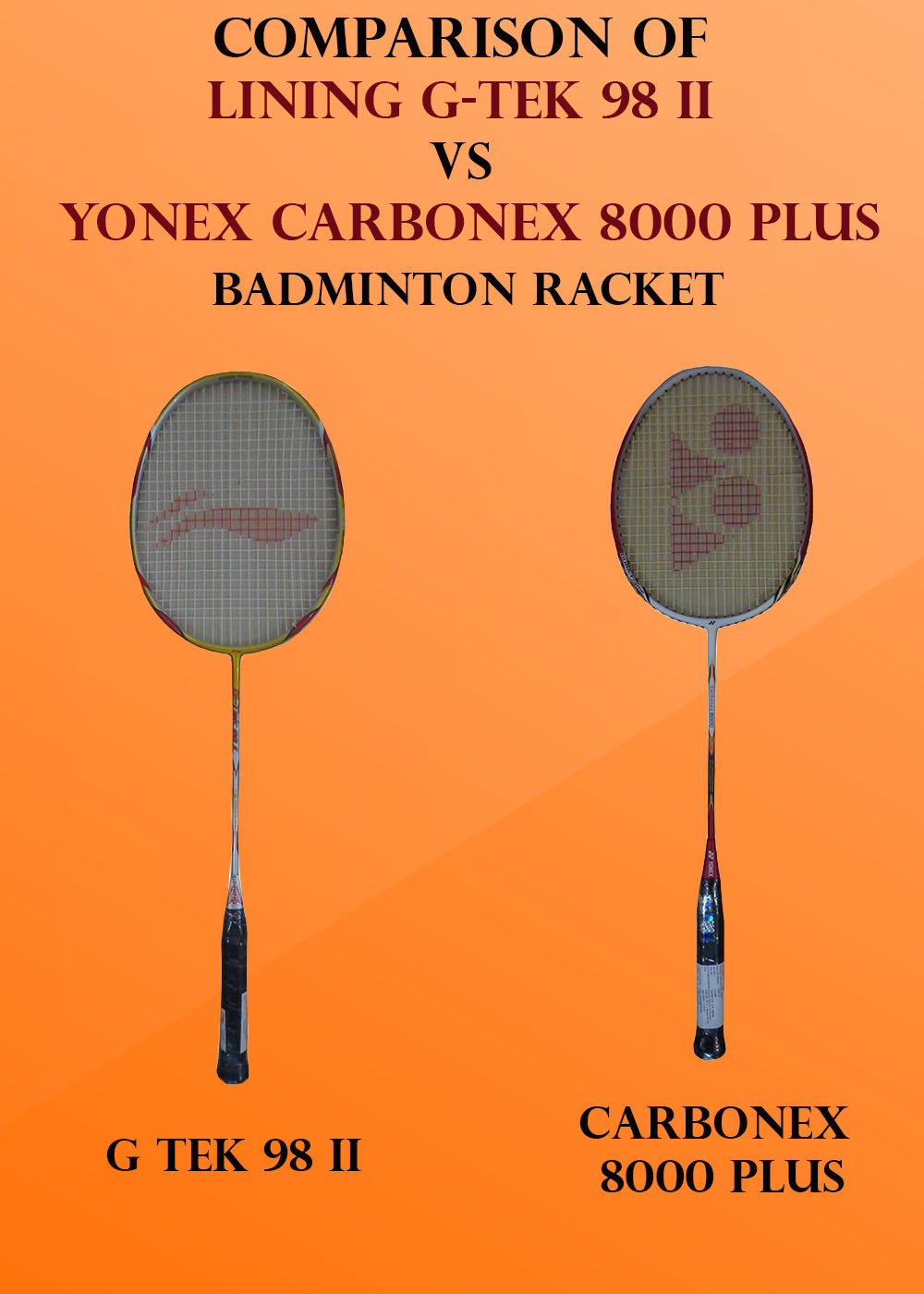 Comparison of Lining G tek 98 vs carbonex 8000_1