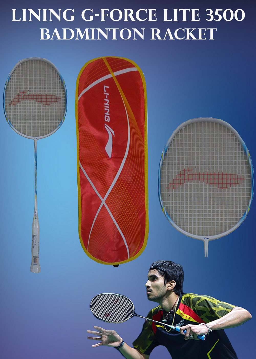 Li Ning G Force Lite 3500 Badminton Racket