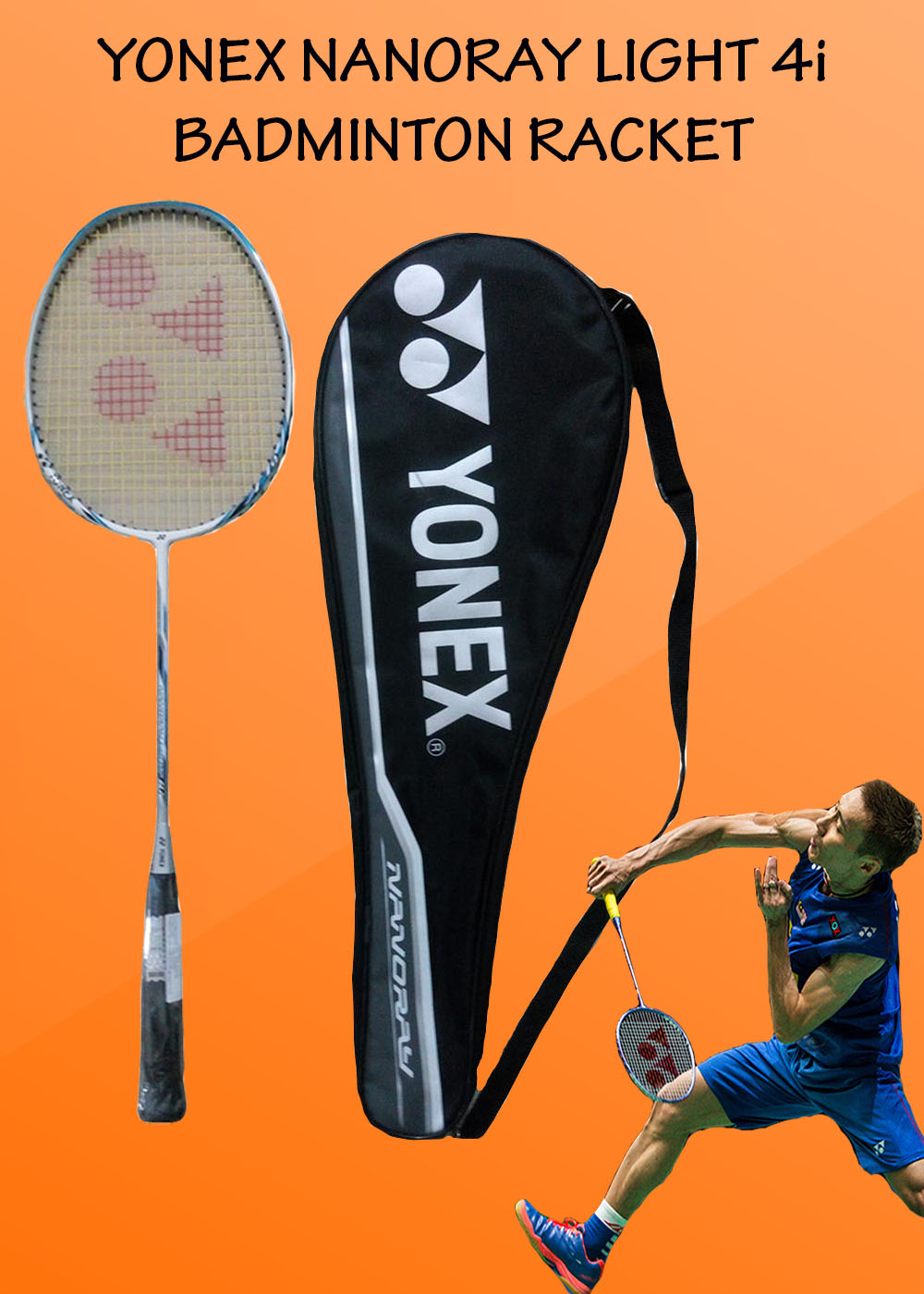 Yonex Nanoray Light 4i Badminton Racket