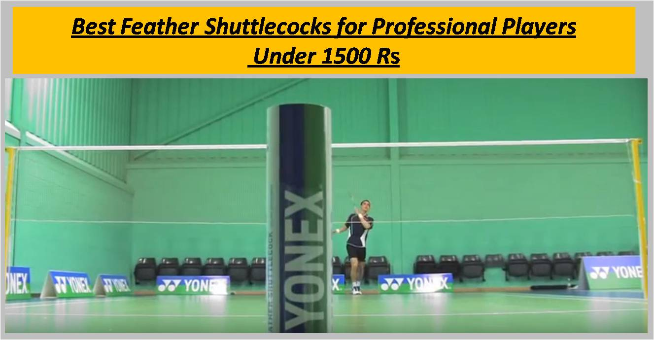 Best Feather Shuttlecocks for Professional Players Under 1500 Rs